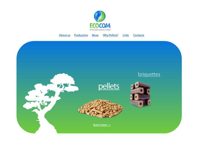 Главная страница компании Ecocom