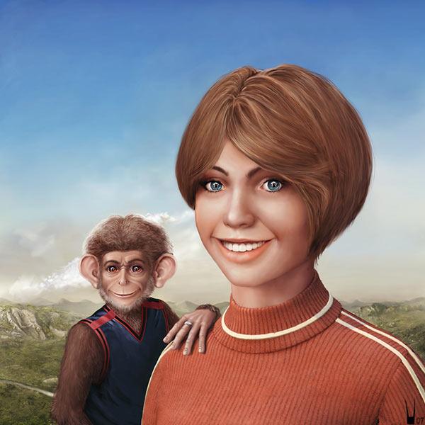 Алиса и принц обезьян