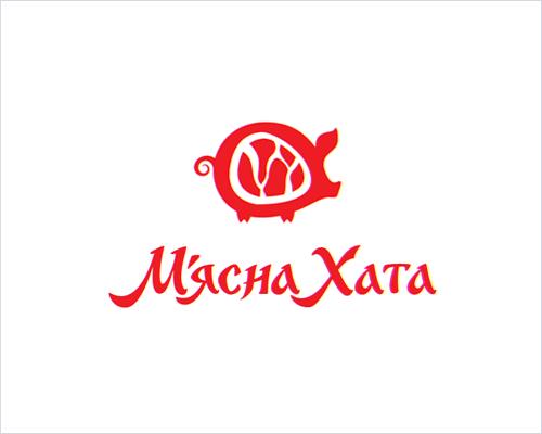 Логотип компании «М'ясна хата»