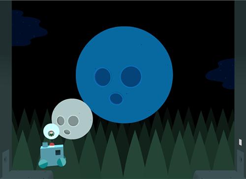Восьмая комната. Две луны