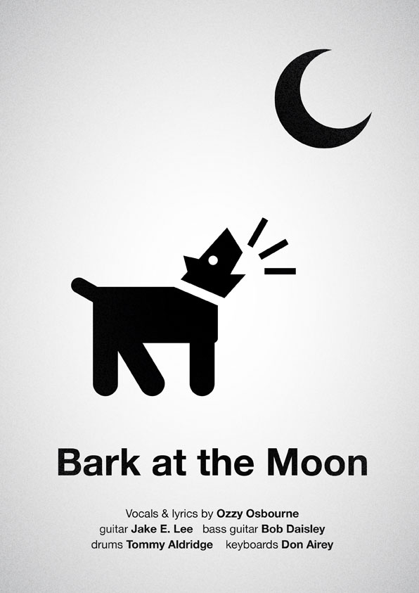 Bark at the Moon poster